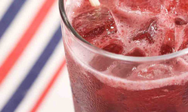 Red, White, and Blueberry Spritzer