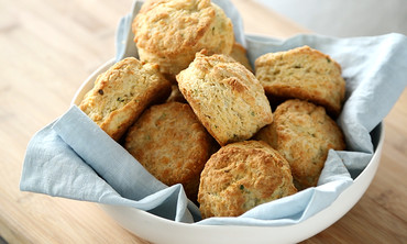 Savory Cheese and Chive Biscuits
