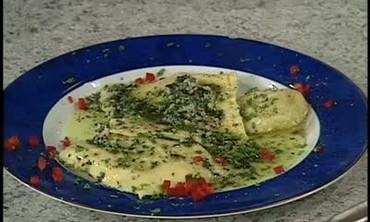 Savory Vegetable Ravioli Filling