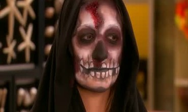 Scary Skull Makeup for Halloween