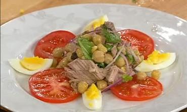Sicilian Chickpea and Tuna Salad