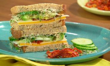 Three Cheese Veggie Sandwiches