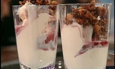 Vanilla Ice Cream with Port Wine