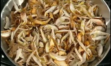 Wild Mushrooms on Brioche, Part 1