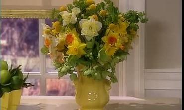 Yellow Spring Flower Arrangement