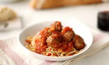 20-Minute Spaghetti and Meatballs