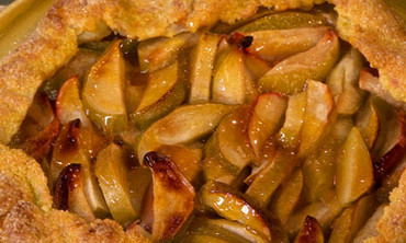 Bake an Open-Faced Apple Crostata