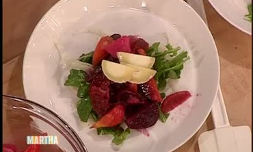 Chef Nargi's Mixed Baby Beet Salad