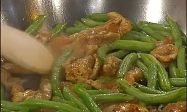 Chicken Stir-Fry with Green Beans