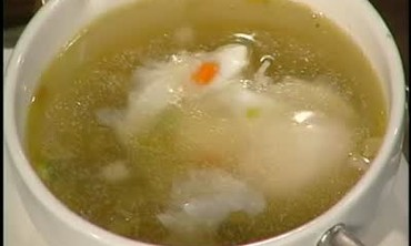 Consomme Colbert with Poached Egg