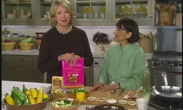 Cooking Sabzi with Madhur Jaffrey