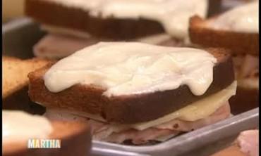 Croque Monsieur Sandwiches, Part 1