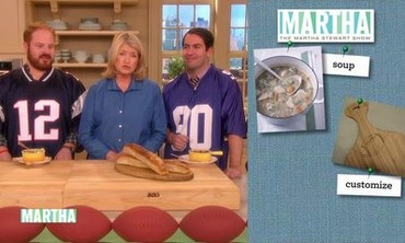 "Daily Takeaway: ""Souper"" Bowl Show"