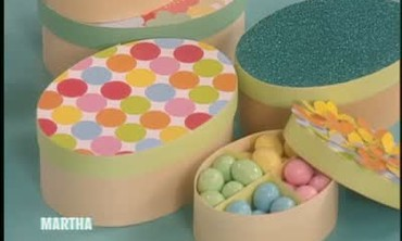 Decorative Candy Boxes for Easter