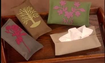 Good Thing: Handmade Tissue Holder
