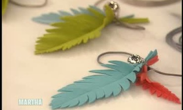 Handmade Feather and Bell Cat Toy