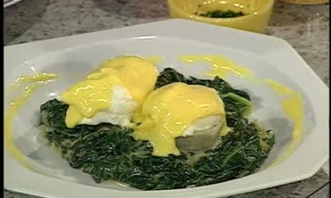 Hollandaise Sauce for Eggs Sardou