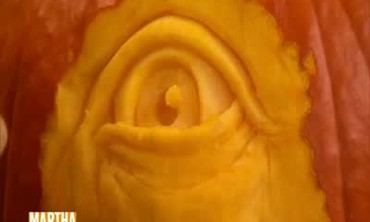 How to Carve a Pupil in a Pumpkin