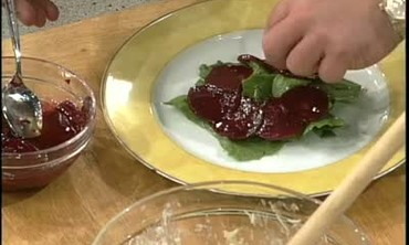 How to Make a Beet and Crab Salad