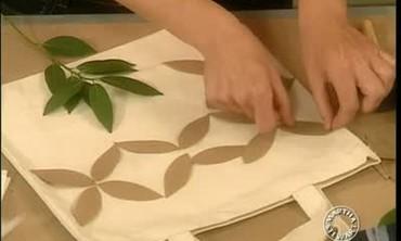 How to Make a Leaf Print Tote Bag