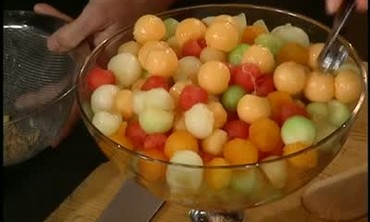 How to Make Margarita Melon Balls