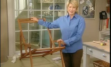 How to Replace a Beach Chair Seat
