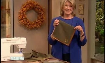 How To Sew Custom Holiday Napkins