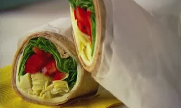 How to: Spinach and Artichoke Wrap