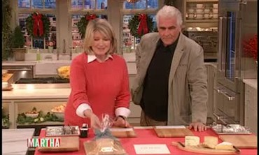 James Brolin's Wooden Cheese Board