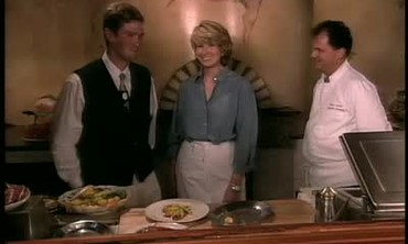 Martha Stewart Visits Sole E Luna