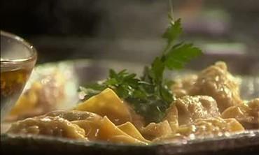 Portuguese Potato Dumpling Soup