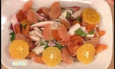 Radicchio and Fennel Citrus Salad