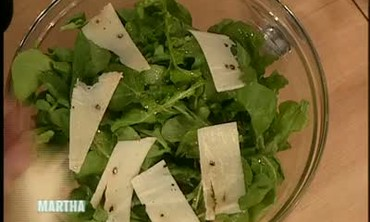 Arugula Salad with Pecorino Cheese