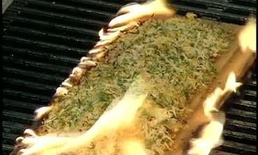 Cedar Plank Trout with Horseradish