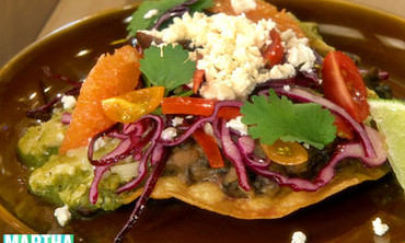 Chicken Tostadas with Fred Armisen
