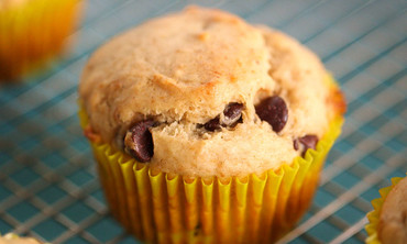 Easy Banana & Chocolate Chip Muffin