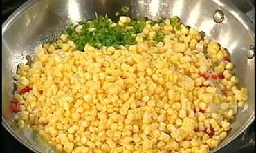 Emeril Kicks Up a Corn Maque Choux