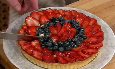 Fruit Tart Dessert and Puff Pastry