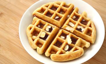 Homemade Belgian Buttermilk Waffle