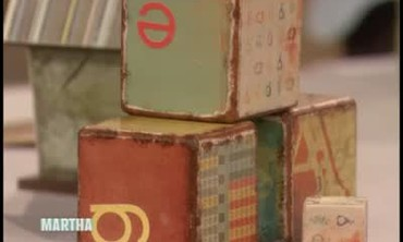How to Decorate Wooden Baby Blocks