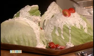 How to Make an Iceberg Wedge Salad