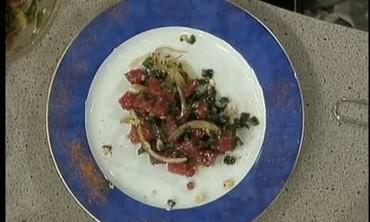 Poke Salad with Sesame Vinaigrette
