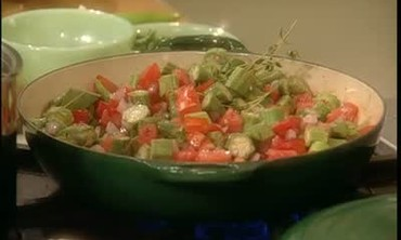 Quick Cook: Okra and Tomatoes, Pt. 1