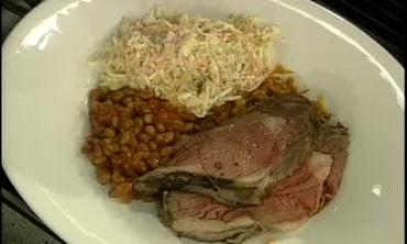 Texas Platter with Prime Rib Roast