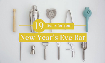 19 items for your New Year's Eve Bar