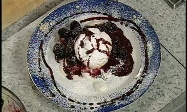 Black Berry Marinade Dessert Recipe