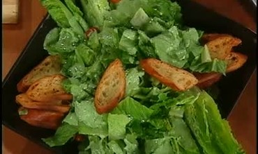 Canadian Bacon Romaine Salad, Part 2