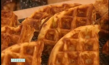 Cheddar Cheese and Jalapeno Waffles