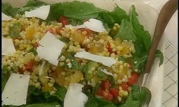 Corn, Tomato, Avocado and Basil Salad