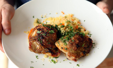 Crispy Ginger-Lime Chicken Thighs